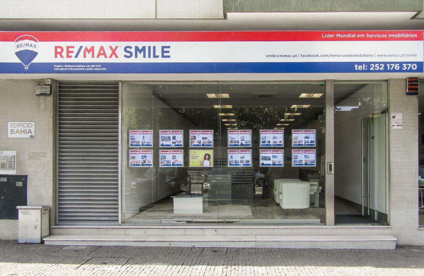Loja Agência Imobiliária Remax Smile - Trofa